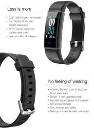 life bracelet app images Senbono id130 plus 2 color smart wristband heart rate monitor jpg