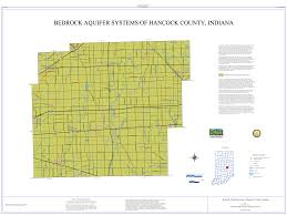 County Map Of Indiana Dnr Aquifer Systems Maps 20 A And 20 B Unconsolidated And