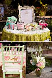 tea party bridal shower ideas outdoor vintage lace tea party bridal shower decor table vintage