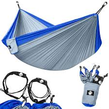 Bliss Hammock In A Bag Amazon Com Legit Camping Double Hammock Lightweight Parachute