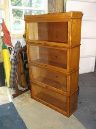 Bookcase Maple Antique Office Furniture