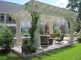 Misters For Patio by Outdoor Patio Cooling System 25 Nozzles Do It Yourself Misting