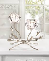 crystal flower candle stand wholesale at koehler home decor