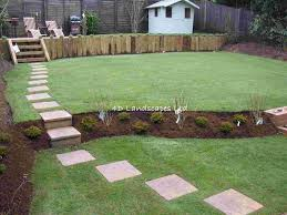 Tiered Backyard Landscaping Ideas by Triyae Com U003d Multi Level Backyard Designs Various Design