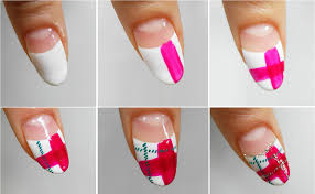 the perfect scottish pattern nail art design chikk net