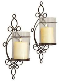 Flameless Candle Wall Sconce Set 2 9 Best Candle Sconce Adeco Images On Pinterest Iron Table