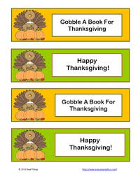 thanksgiving bookmark by real things teachers pay teachers