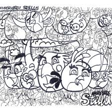 angry birds stella coloring page 2 by tiffanyangrybirds23 on