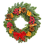 fresh wreath wreaths serenata flowers