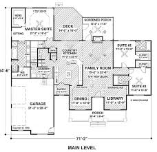country style house plan 3 beds 3 50 baths 2294 sq ft plan 56