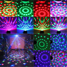 Halloween Lighting Effects Amazon Com Dj Light Sound Activated Party Lights Disco Ball