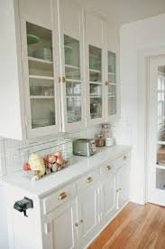 upper kitchen cabinets with glass doors outofhome
