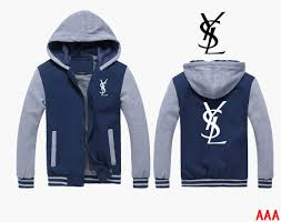 yves saint laurent cotton ysl hoodies men delicate colors yves