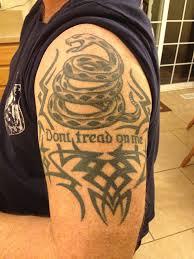 Don T Tread On Me Tattoo Ideas Don U0027t Tread On Me Gadsden Pinterest Tatting And Tattoo
