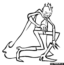 cryptids coloring pages 1