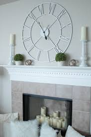 how to decorate a fireplace mantle for spring life by lee