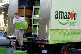 amazon targets grocery delivery begins testing amazonfresh in