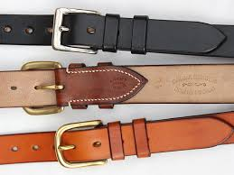 Handmade Belts And Buckles - quality handmade leather belts oak bark leather jasper