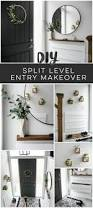 split level homes interior a diy split level entry makeover before u0026 after lemon thistle