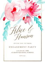 engagement greeting card free engagement party invitation templates greetings island