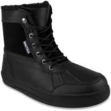 mens boots casual rain and winter boots nautica