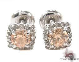 diamond stud earrings for women stud earrings diamond earrings for women white gold 14k