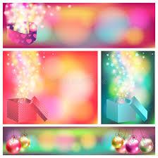 colorful celebration ornament banner background c stock vector