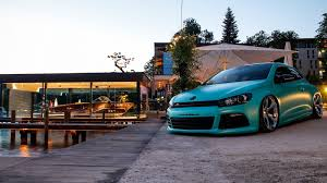 volkswagen scirocco r modified slammed vw scirocco r with 370ps is as minty fresh as they come