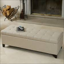 Grey Tufted Ottoman Furniture Wonderful Small Tufted Round Ottoman Small Brown