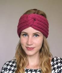 knitted headbands knit turban headband pattern crochet and knit