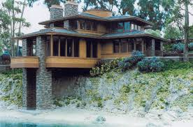Adobe Style Houses by Prairie Style Frank Lloyd Wright Marvellous Design 8 Gnscl