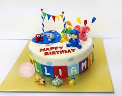 pocoyo cake toppers pocoyo cake cupcakes happy cake studio