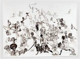Text Artwork by Kara Walker Traces Slavery U0027s Bitter Legacy With New Ways Of