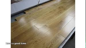 Solid Oak Hardwood Flooring Solid Oak Wood Flooring Youtube