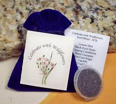 unique party favors celebrate with wildflowers earth friendly inexpensive unique