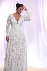 sleeve wedding dresses for plus size plus size wedding dresses with sleeves by darius bridal