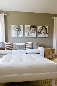 Great Ways To Display Family Photos - Family pictures in living room