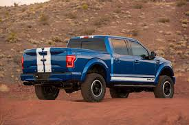 ford f1 50 truck shelby brings the blue thunder to sema with 700hp f 150 truck