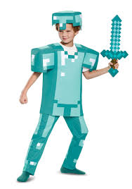 minecraft costumes deluxe kids minecraft armor