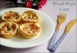 canape cups recipes bread pizza bread cup pizza recipe raks kitchen