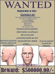 wanted poster template word excel pdf