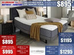 American Bedding Mattress Mattresses U2013 All American Mattress U0026 Furniture