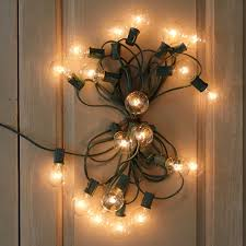 Vintage Globe String Lights by Aliexpress Com Buy Outdoor Patio String Lights 10m 33ft G40
