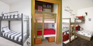 Free Diy Bunk Bed Plans by 10 Free Diy Bunk Bed Plans Cool Diys