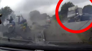three miraculously survive horror crash after moment they u0027re flung