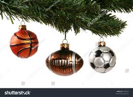 football ornaments for trees lights decoration