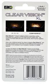 lexus certified korea amazon com eiko h755cvxl bp h7 55w clear vision xl halogen