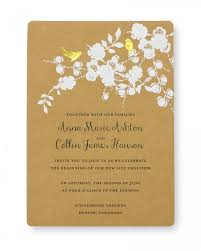 wedding invatations print at home invitation kit gold foil birds gartner studios