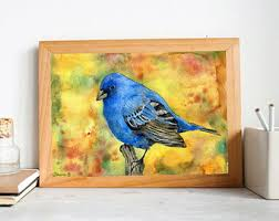 colorful painting etsy