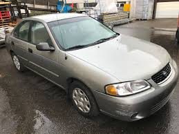 grey nissan sentra 2001 nissan sentra xl 4 door sedan grey vin 3n1cb51dx1l465141